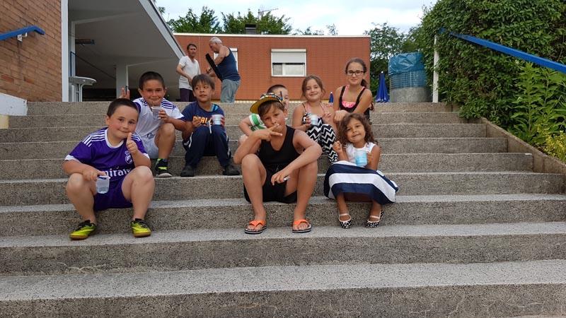 Blaues Kratzeis macht alle Kinder glücklich!