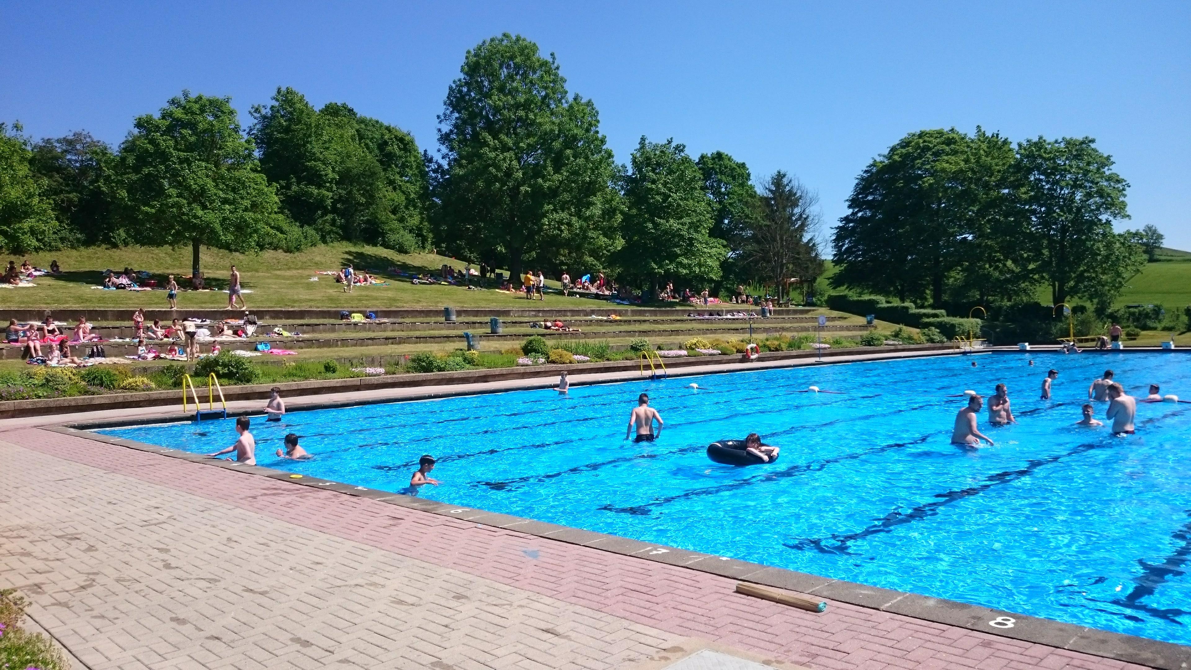 Abschwimmen