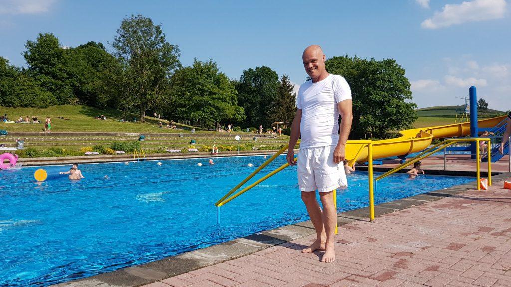 Frank Lyding - unser neuer Bademeister