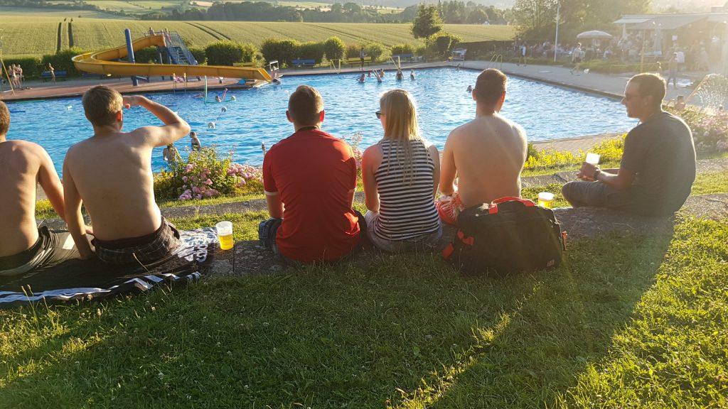 Mittsommernachtschwimmen
